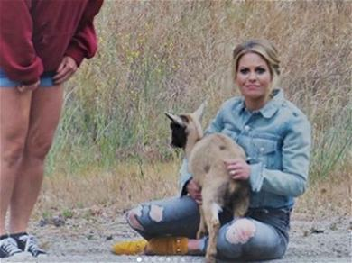 Candace Cameron Bure Is the GOAT After Saving Goats