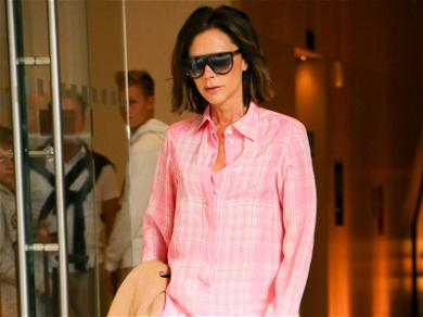 B Glam: Victoria Beckham Caught in the Most Fabulous PJs