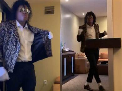 YG Has 'Thriller' of a Halloween Costume, Transforms Into Michael Jackson
