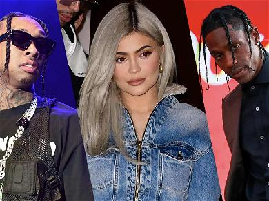Kylie Jenner Denies She's Dating Tyga After Travis Scott Breakup