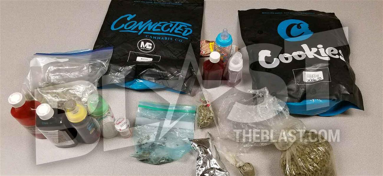 Migos' Vehicle Pulled Over, 420 Grams of Pot & 26 Oz of Codeine Seized