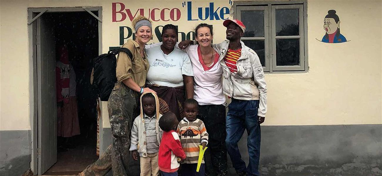 Luke Perry's Daughter Gets Malawi School Named After Famous Dad