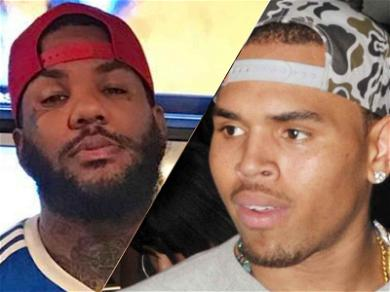 Chris Brown and The Game Passed A Joint During Hip-Hop All-Star Game