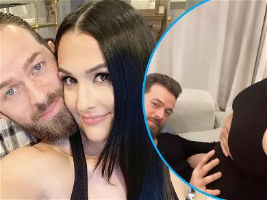 Pregnant Nikki Bella Shares Giant Baby Bump Pic At 23 Weeks With Baby Daddy Artem