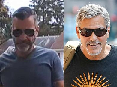 George Clooney Look-Alike Arrested for Stealing Holiday Packages