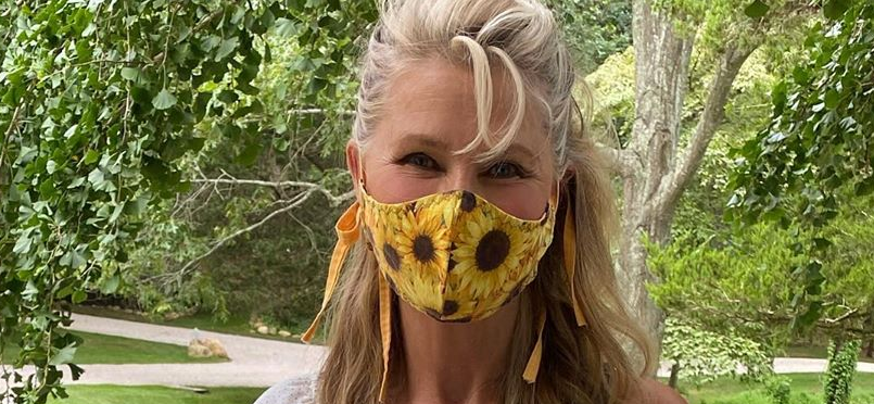 Christie Brinkley Shows Off Perky Tomatoes from Bountiful Harvest