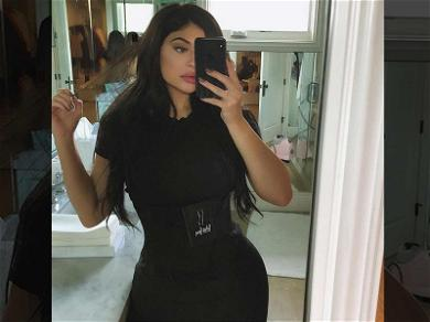 Kylie Jenner Using 'Snap Back' Waist Trainer Weeks After Giving Birth