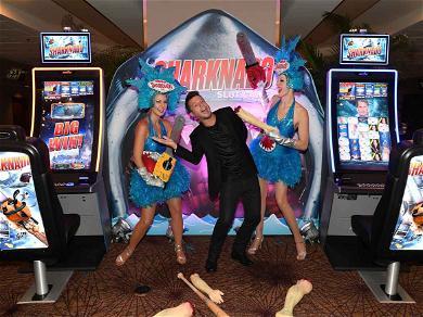 Sharknado Slot Machine Launch