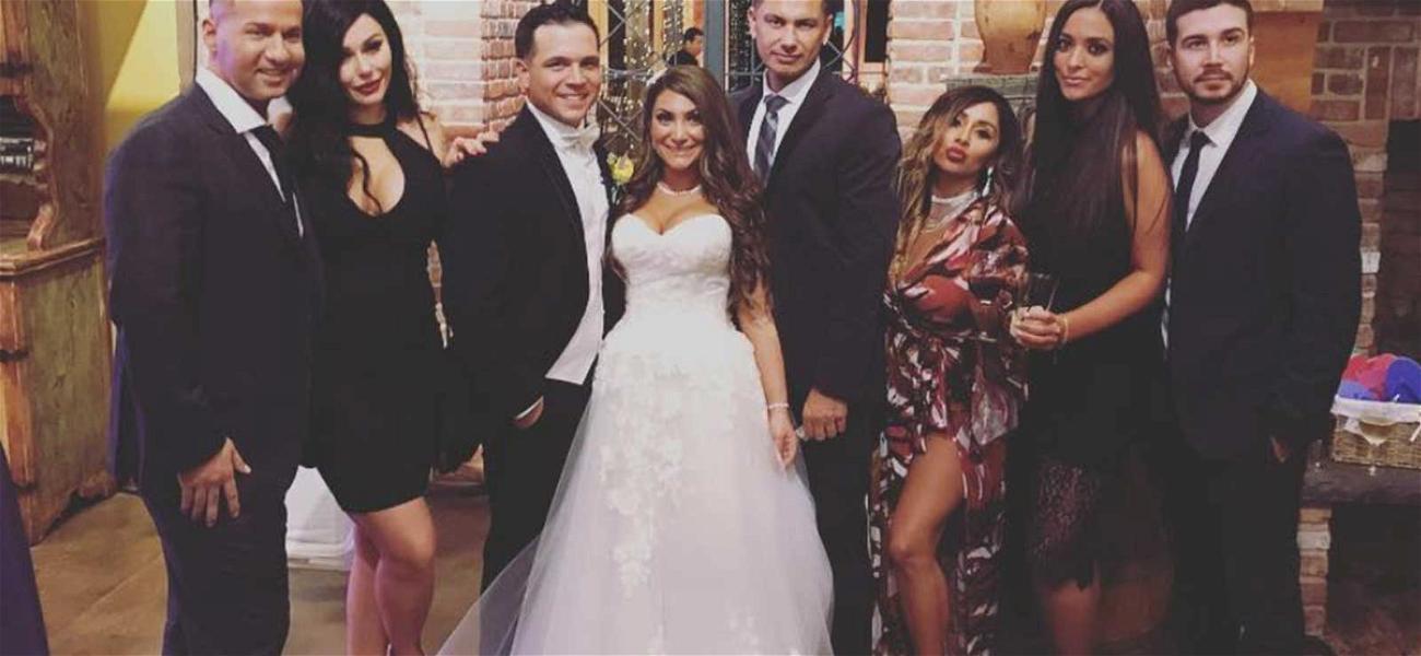 'Jersey Shore' Star Deena Cortese Gets Married Alongside Cast