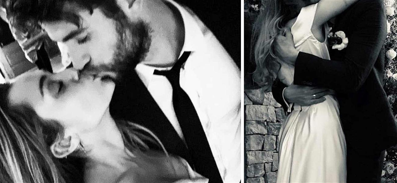 Miley Cyrus Shares Intimate Photos From Wedding with Liam Hemsworth