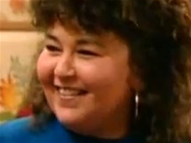 Roseanne Barr Smiles Wide to Reveal Shockingly Slim Figure