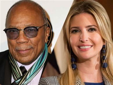 Quincy Jones Once Dated Ivanka Trump and Nothing Makes Sense Anymore