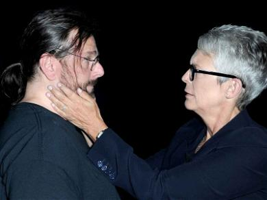 Jamie Lee Curtis Embraces Fan at Comic-Con Who Survived Home Invasion Due to Her 'Halloween' Role