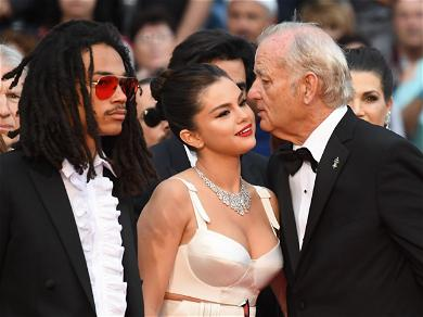 Selena Gomez and Bill Murray's PDA on Cannes Red Carpet