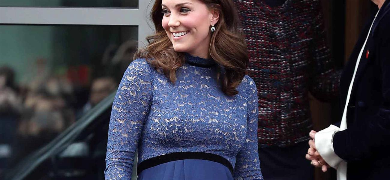 Kate Middleton Recycles Her Maternity Dress