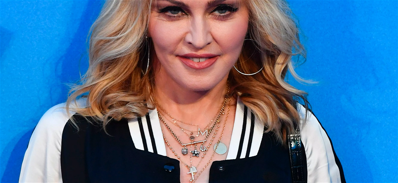 Madonna CRUSHES Instagram In An Epic NSFW Nip Pic
