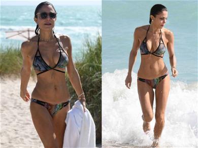 Bethenny Frankel Slithered Into This Amazing Snakeskin Bikini