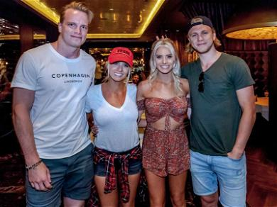 'Bachelor' Star Emily Ferguson Does Date Night With Vegas Knight BF (And His Entire Team)