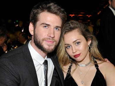 Miley Cyrus Pens Hypersexual Message to Liam Hemsworth While Celebrating First Valentine's Day As Married Couple