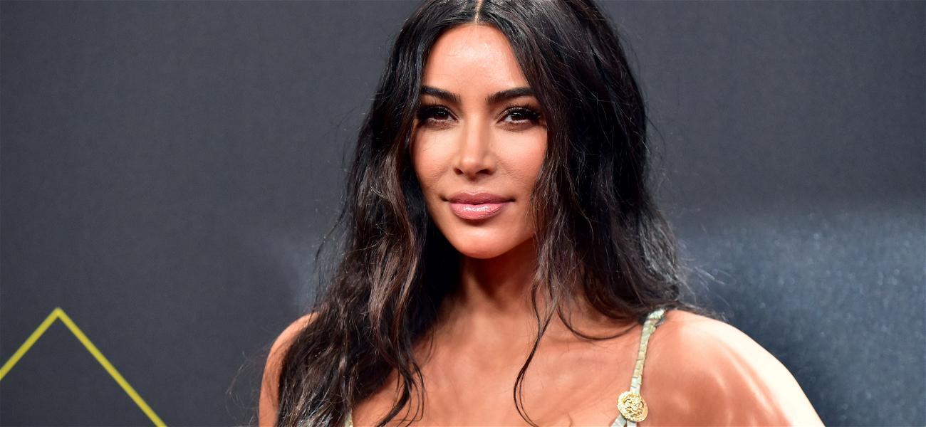 Kim Kardashian Facing Criticism After Giving Black Model A Black Face Mask For Nude Color In SKIMS Line Ad