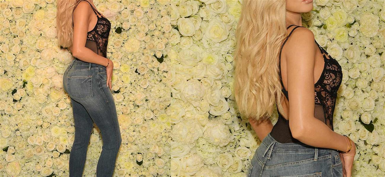 Khloé Kardashian's Wax Figure Is Dressed In Clothing Donated By KoKo Herself