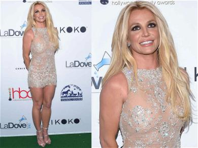Britney Spears Sparkles and Smiles Despite Child Support Issues With K-Fed