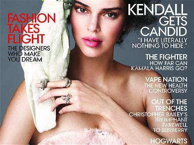 Kendall Jenner Inside Vogue Magazine