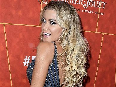 Carmen Electra Offered Syrup In Skimpy Swimsuit On Pink Pancake Pool Floatie