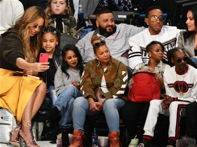 Beyonce, Blue Ivy and the Rest of the Courtside Stars at the NBA All-Star Game