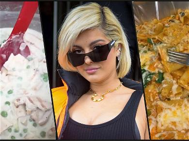 Bebe Rexha Leaves Fans Drooling During Creamy Italian Cooking Lesson
