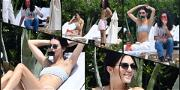 Kendall Jenner Strips Down with Kourtney's Ex-BF in Cannes