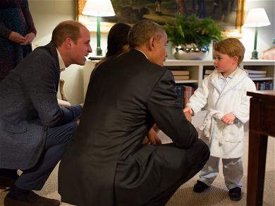 Prince William and Kate Middleton Already Preparing Prince George to Be King