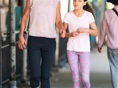 Katie Holmes With Her Mini-Me & Four Other Celebs Who's Kids Look Just Like Them!
