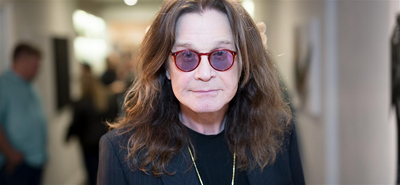 Paparazzi Photos Show Frail Ozzy Osbourne Walking With A Cane As Daughter Kelly Slams 'Death Bed' Rumors