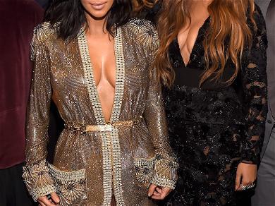 Kim Kardashian Apparently Didn't Receive Beyonce's Ivy Park Merch