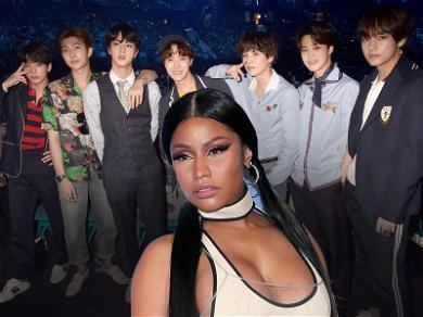 Shazam Hints at Possible Collab Between BTS and Nicki Minaj