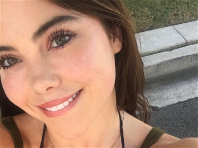 Gymnast McKayla Maroney Swaps The 'Blues For Pink' With Silky Shirt