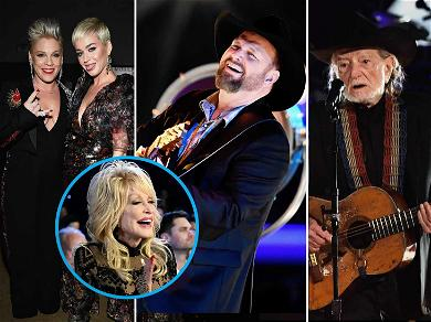 Dolly Parton Honored By Willie Nelson, Garth Brooks, Katy Perry at MusiCares Person of the Year