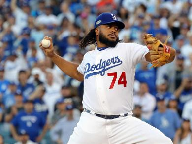 L.A. Dodgers Closer Kenley Jansen Battles Baby Mama Over Vaccinations While Fighting for World Series Birth