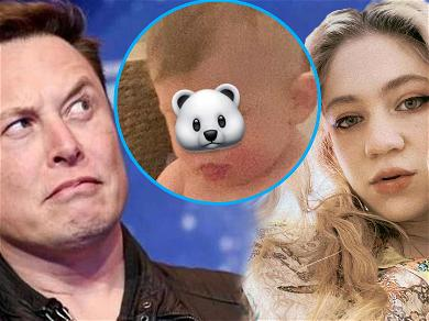 Grimes Gives Elon Musk and Her Baby A Viking DIY Haircut