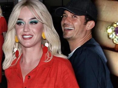 Katy Perry Sports Groovy New Look During Date Night with Fiancé Orlando Bloom