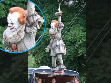 Bill Skarsgård is Floating Around the Set of 'It: Chapter Two'
