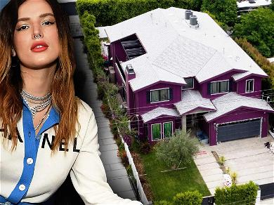 Bella Thorne's Friends Throw Massive Party at Her House, LAPD Responds to Possible 'Shots Fired'