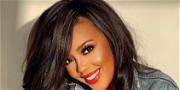 Angela Simmons Shows Off Good Hair Day In White Lingerie