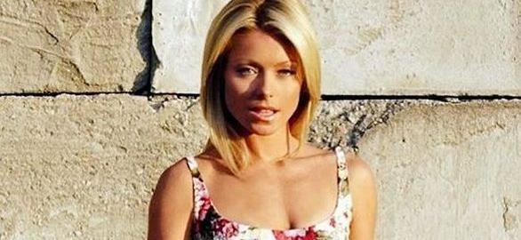 Kelly Ripa's Husband Missing Her In Little Black Dress