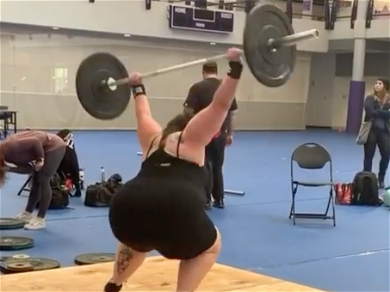 'My Big Fat Fabulous Life' Whitney Tries to Land a Power Jerk While Weightlifting