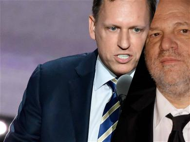 Billionaire Peter Thiel's Company Funding Victims Lawsuits Against Harvey Weinstein