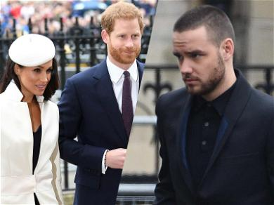 Prince Harry Raises His Brows at Meghan Markle Over Liam Payne