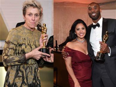 Kobe Bryant Headlines Governors Ball, Frances McDormand Briefly Loses Oscar Statue