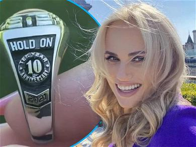 Rebel Wilson Shows Off Cool Class Ring Sent By 'Bridesmaids' Director On 10-Year Anniversary